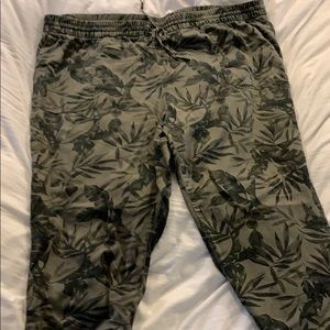 Old Navy-  floral pants